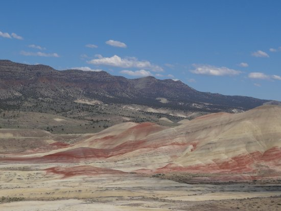 John Day Fossil Beds National Monument: Here's a shot our grandson took at the Painted Hills Unit.