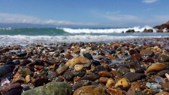 Casa Velas: Make sure you take a walk down the coast and look for sea glass