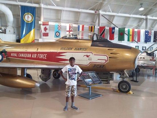 Mount Hope, Canadá: F-86 Saber