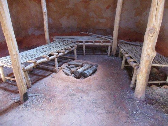 Inside Of Hut Picture Of Cherokee Homestead Exhibit