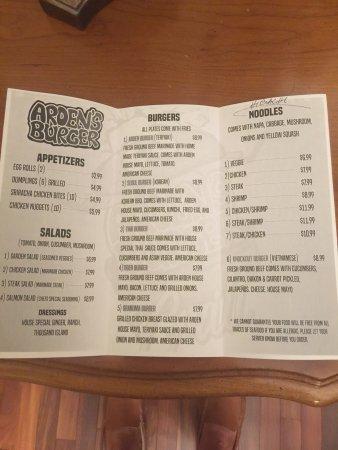 Anderson, Южная Каролина: Arden's burger & grill
