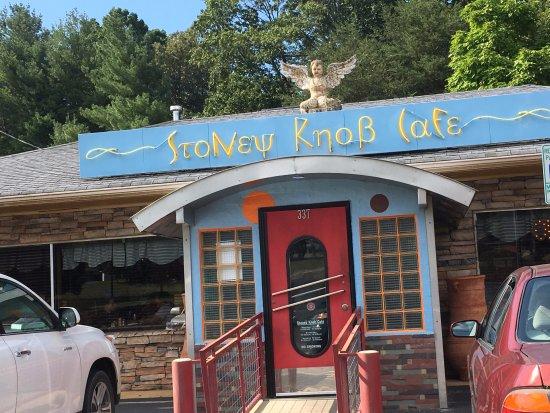 Weaverville, Carolina del Norte: the entrance