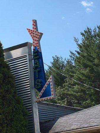 Weaverville, Carolina del Norte: the sign