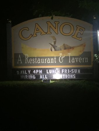 Center Harbor, NH: Canoe Restaurant