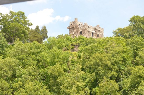 Essex, CT: Gillette Castle from the train