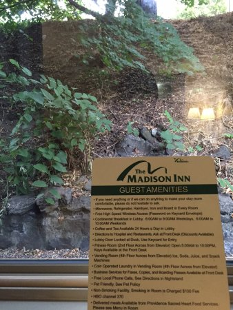 The Madison Inn by Riversage: Madison Inn Spokane view from room