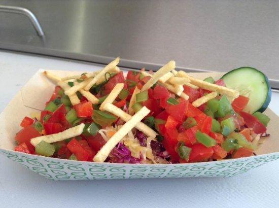 Osage, IA:  Mama's chicken salad! perfect!