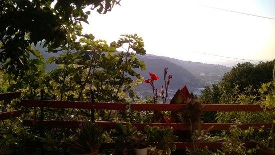 Camporosso, Italien: vue de la terrasse