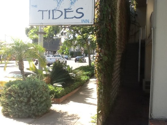 PCH, sidewalk, then my dark room entry area  - Picture of The Tides