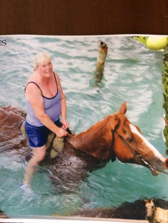 Duncans, Jamaica: Fay Evans having the best time ever!