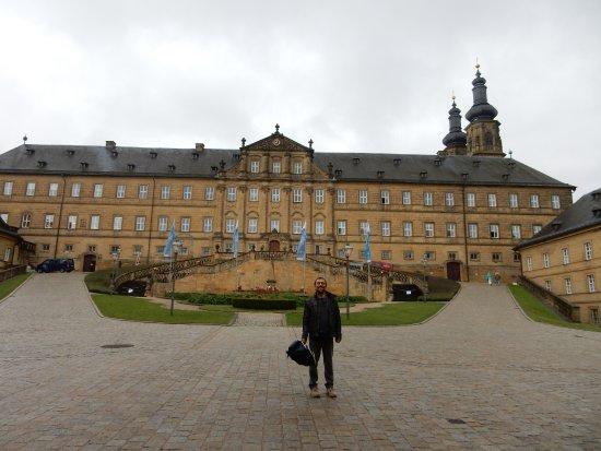 Bad Staffelstein, Duitsland: La facciata monumentale dell'abbazia