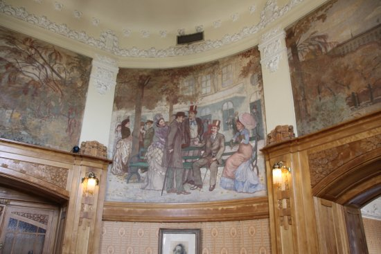 Royal Dramatic Theater (Kungliga Dramatiska Teatern) : Paintings in the cafe