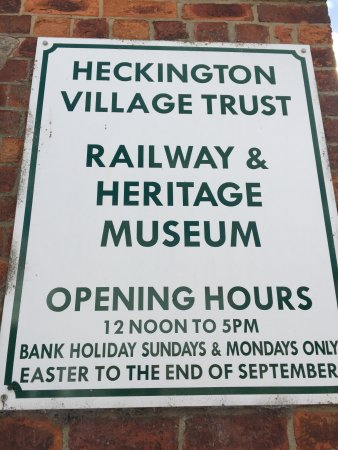 Sleaford, UK: Railway Museum Heckington