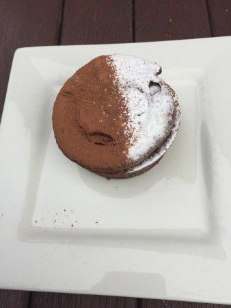 Scone, Australia: A kids milk shake and their desserts