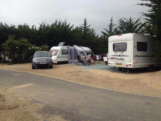 Camping Campéole Les Amis de la Plage : Two of the largest pitches