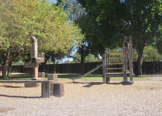 Playground Area, Stewart Park, Roseburg, Oregon