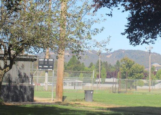 Sports Field Area, Stewart Park, Roseburg, Oregon