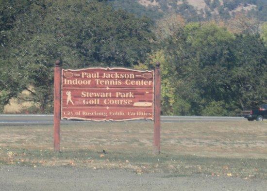 Golf Course, Stewart Park, Roseburg, Oregon