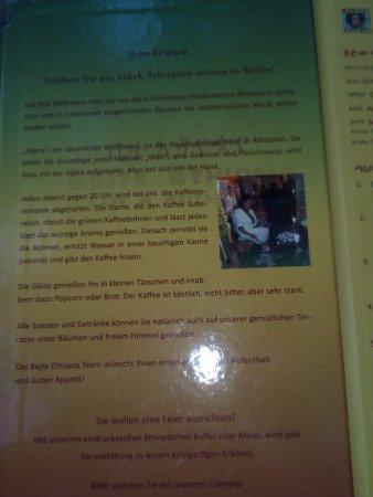 Bejte Ethiopian Restaurant: Info