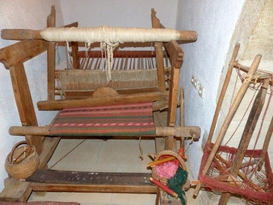 Gavalochori, Grækenland: Weaving
