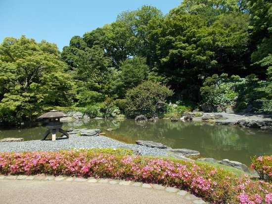 The East Gardens of the Imperial Palace (Edo Castle Ruin): Beautiful flowers of