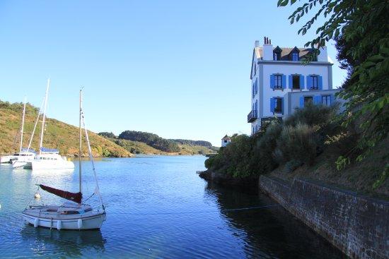 Villa Pen Prad : Au plus près de l'eau ...