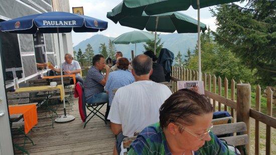 Semmering, Autriche : Toller Gastgarten