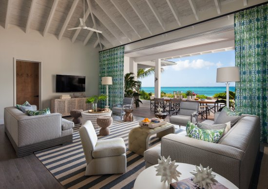 Grace Bay Club: The Residences - Living Room