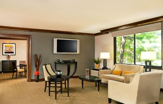 Woodcliff Lake, NJ: Suite Living Area