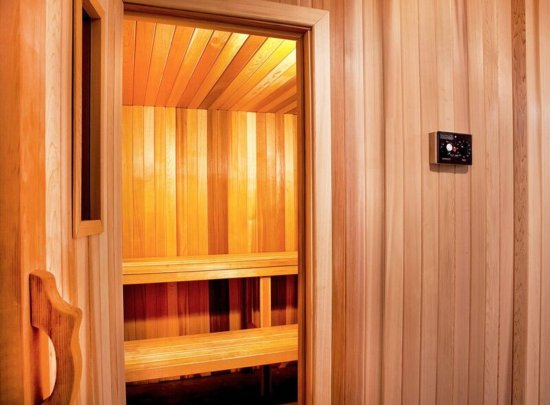 Woodcliff Lake, NJ: Fitness Center Sauna