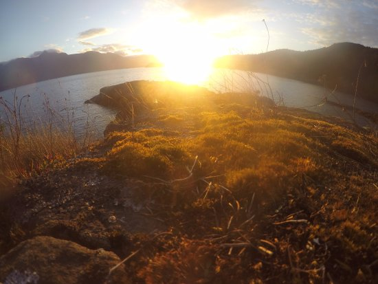 Heriot Bay, Canada: The sunset blew me away