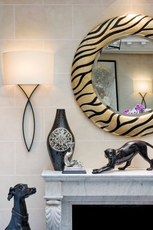 Hotel Keppler: Lounge Detail