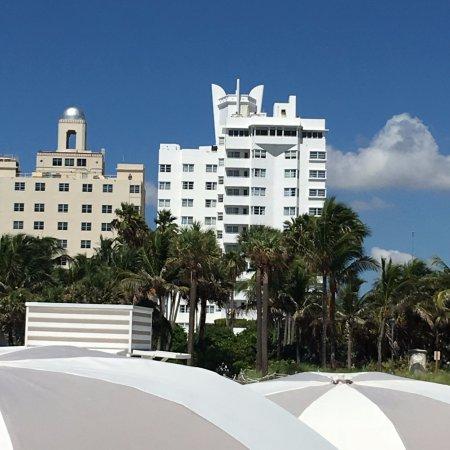 Delano South Beach Hotel: Vista desde la playa