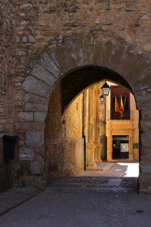 La Iglesuela del Cid, İspanya: Puerta de entrada