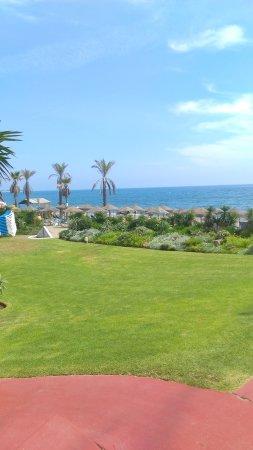 Cancelada, España: Large area for sunbathing