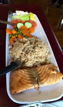 Belle Cote, Kanada: Salmon and halibut entrees