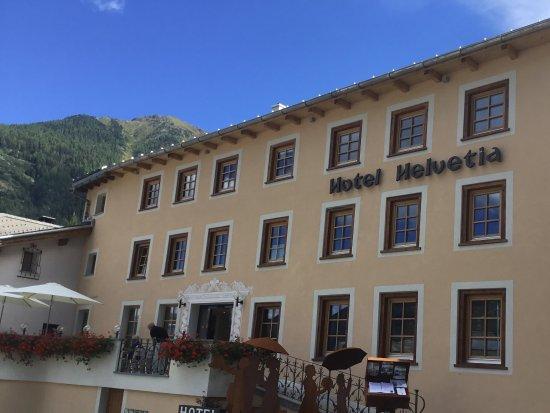 Mustair, Ελβετία: Eingangsbereich