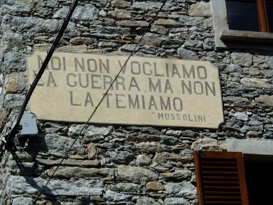 Mollia, Włochy: Residui della nostra storia