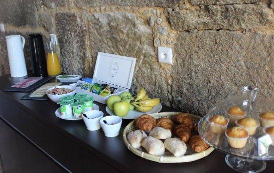 Lagares da Beira, Portugal: Breakfast