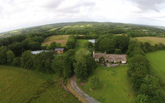 Beaworthy, UK: Located on the Devon & Cornwall Border