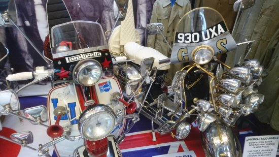 Littledean, UK: mopeds from quadrophinia