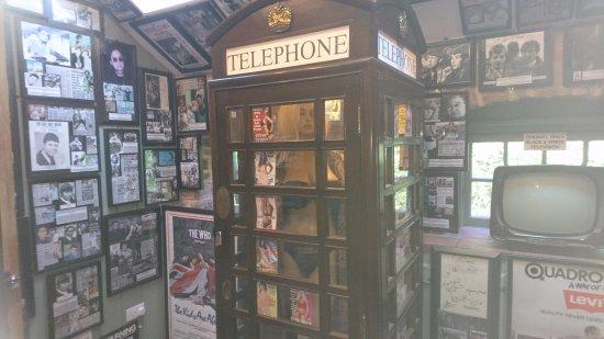 Littledean, UK: inside museum