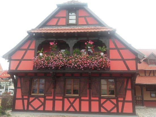 Restaurant le parc dans gambsheim avec cuisine fran aise for Restaurant avec parc