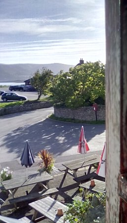 Porlock Weir, UK: View from room one