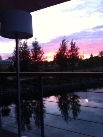 Lauterbach, Alemania: закат из номера