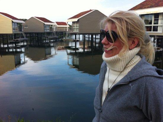 Lauterbach, Alemania: домики на воде