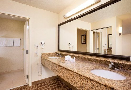 Натик, Массачусетс: Suite Bathroom
