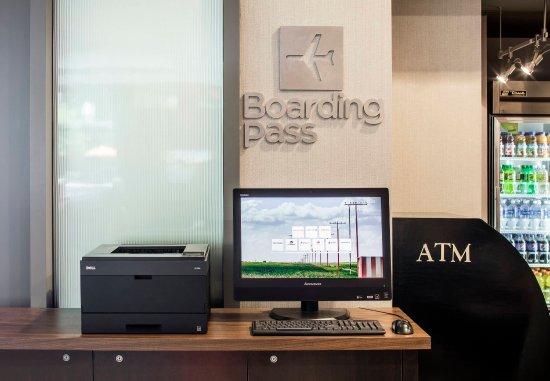Brookline, MA: Boarding Pass Station