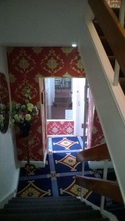 Ashley Hotel: Лестница