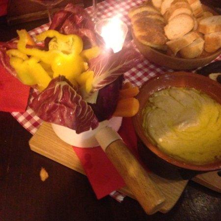bagna caöda con verdure (fondue aux légumes) - Picture of Al Boeuc ...